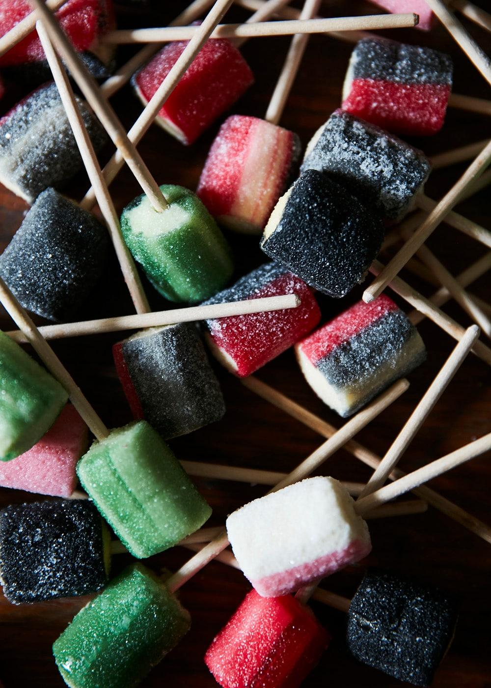 Lollipop Salt Liquorice/Raspberry