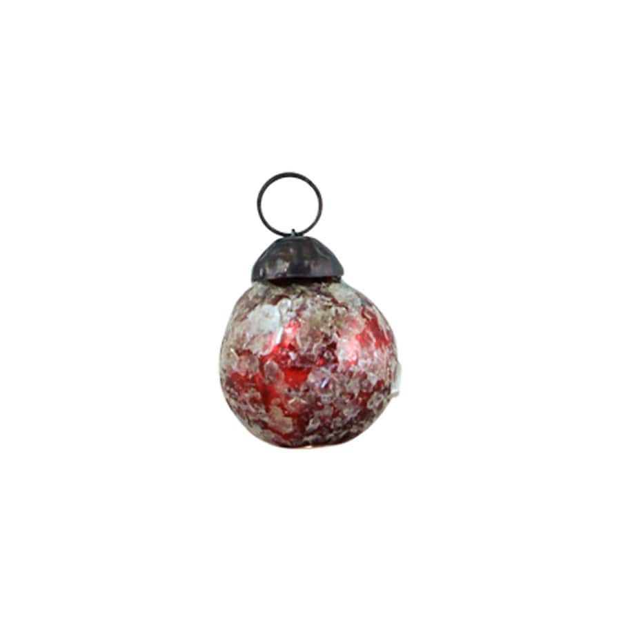 Christmas Ball Ornament Judit Red Small