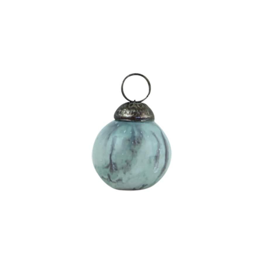 Christmas Ball Ornament Melange Mint Small