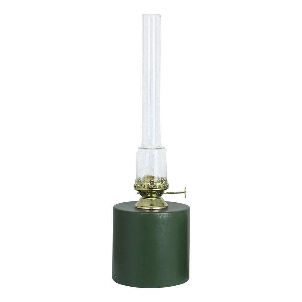 Kerosene Lamp Straight Green Large