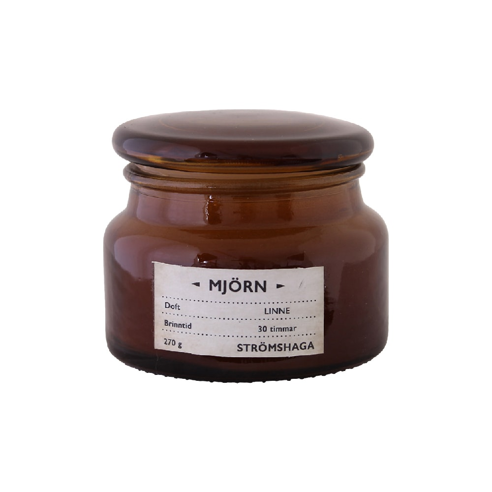 Scented Candle Mjörn Soft Linen 270g