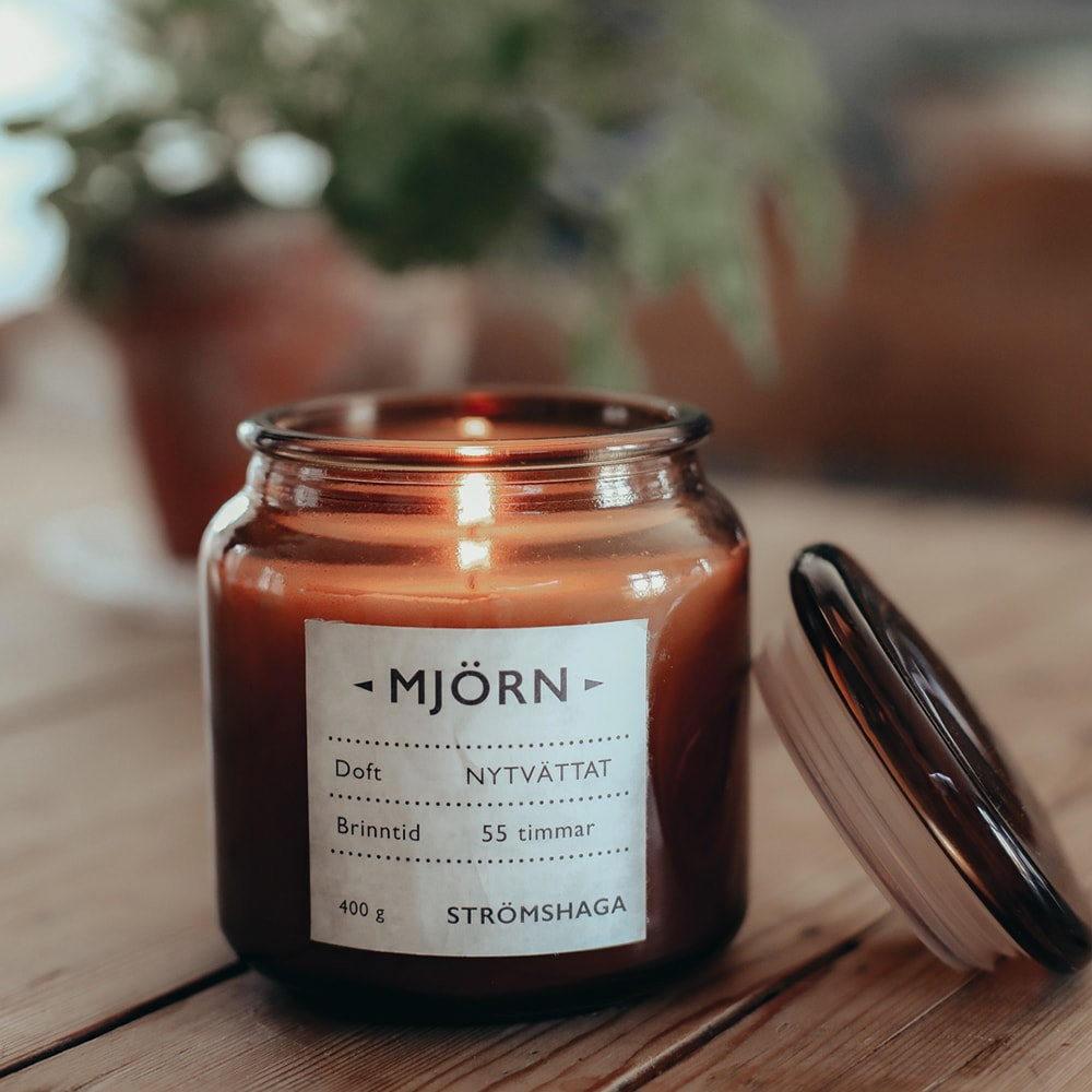 Scented Candle Mjörn Fresh Laundry 400g