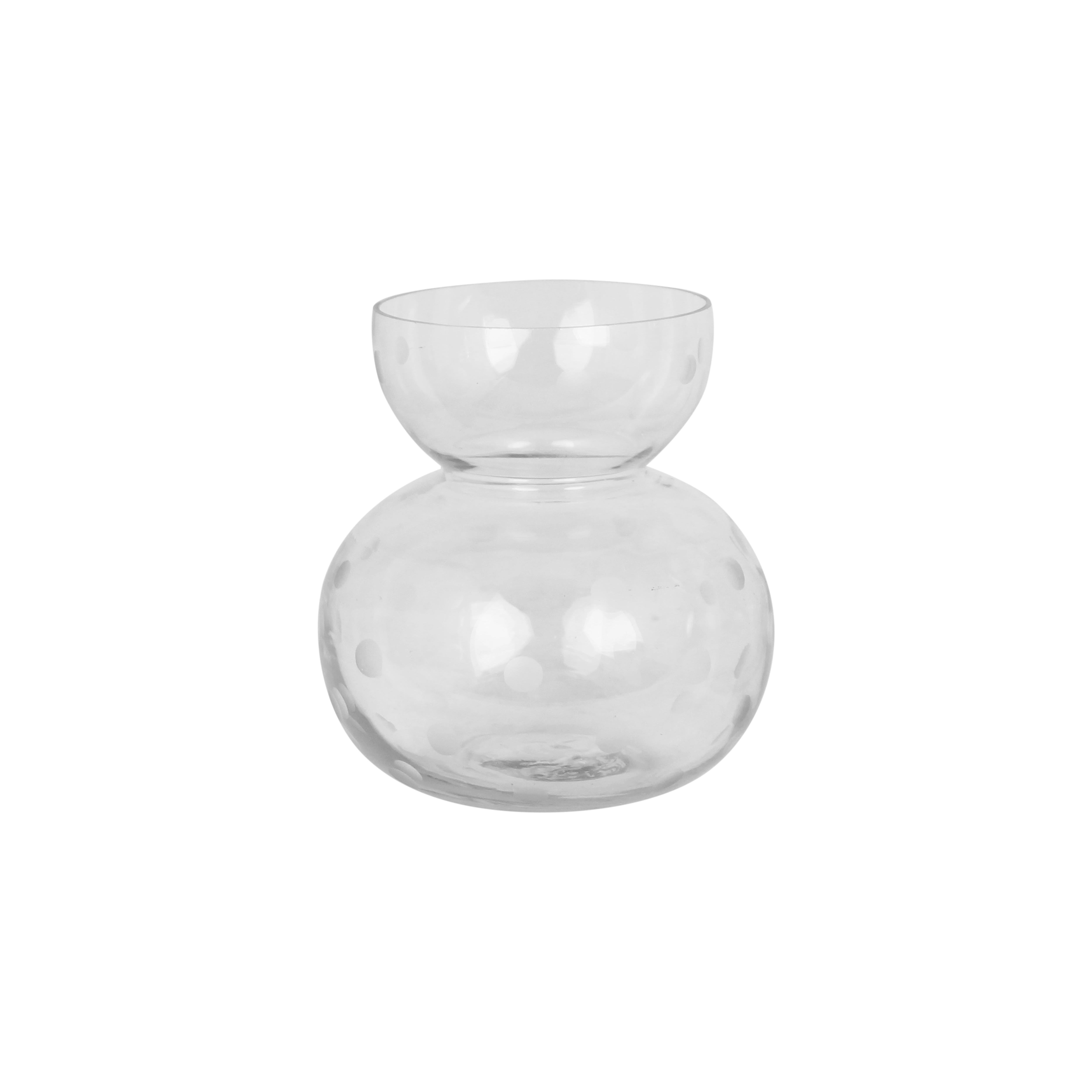 Vase Round Dot Small