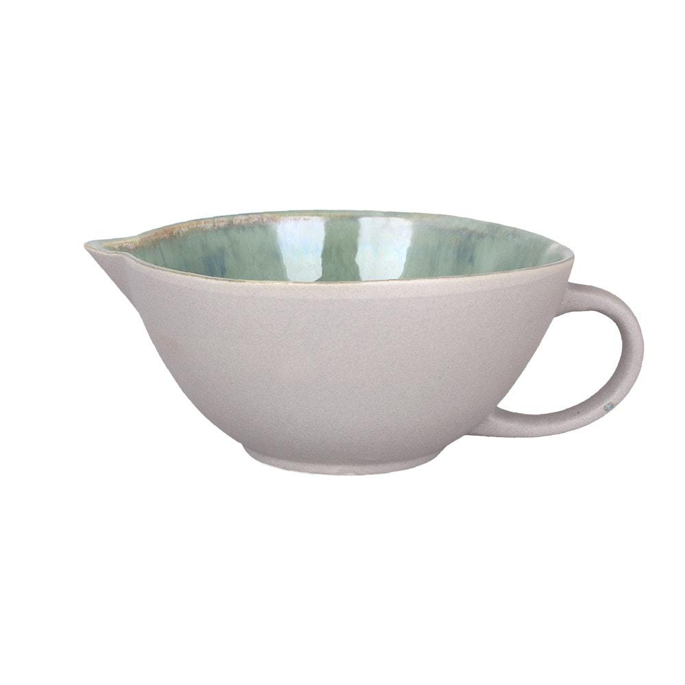Bowl w. Spout and Handle Einar Green Medium
