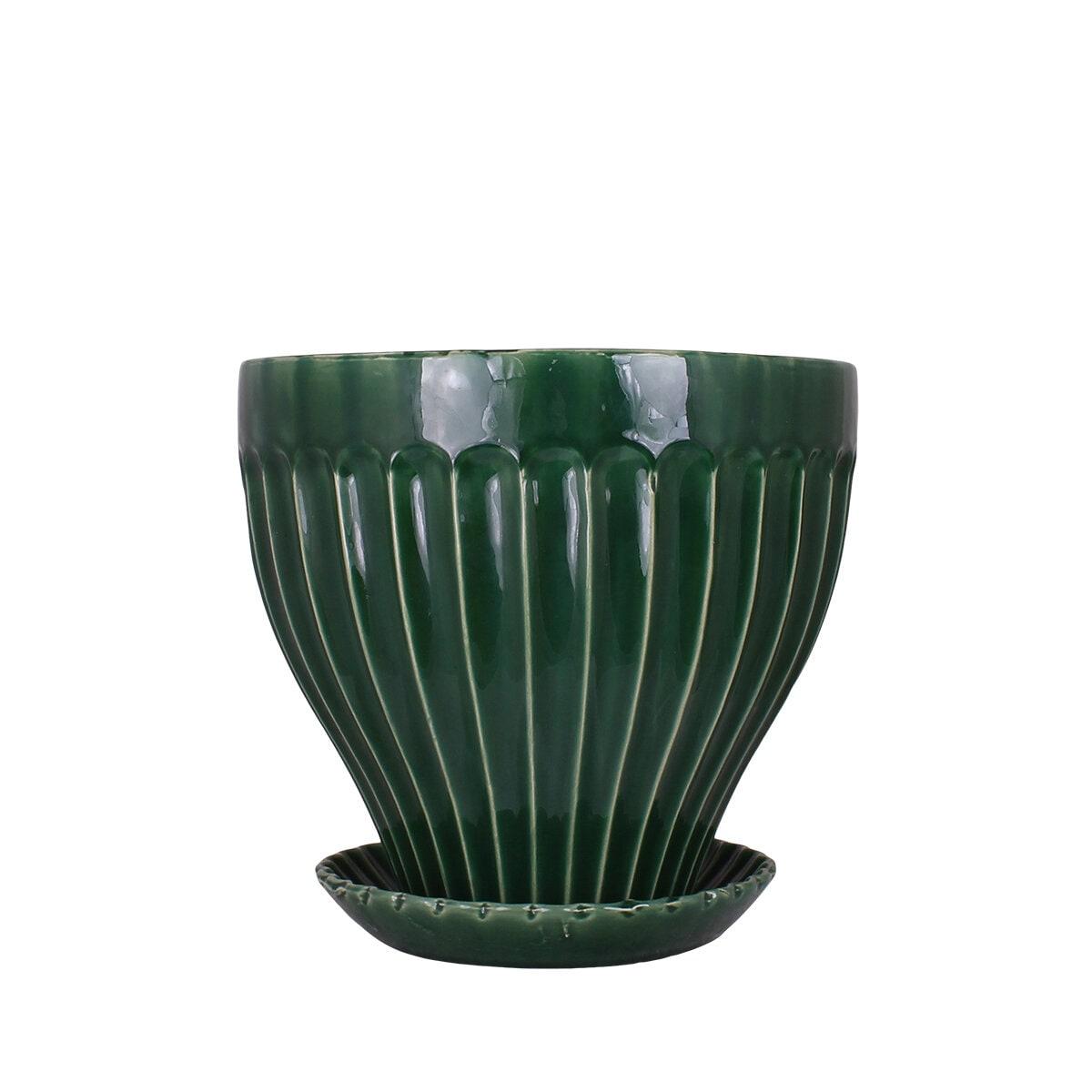 Pot Anna 25 cm Green