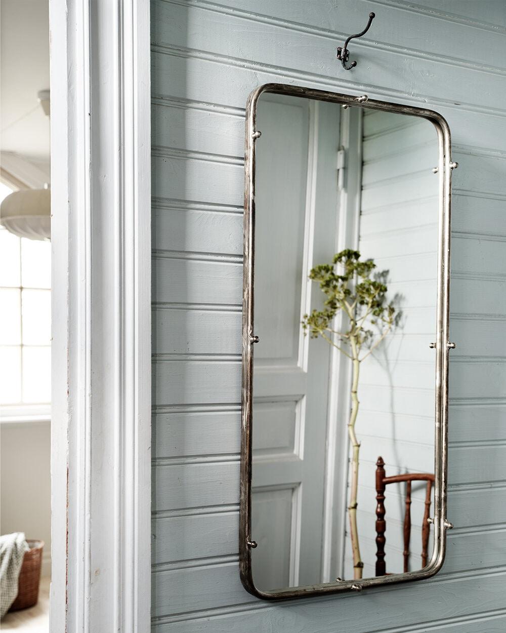 Mirror Karin Antique Silver