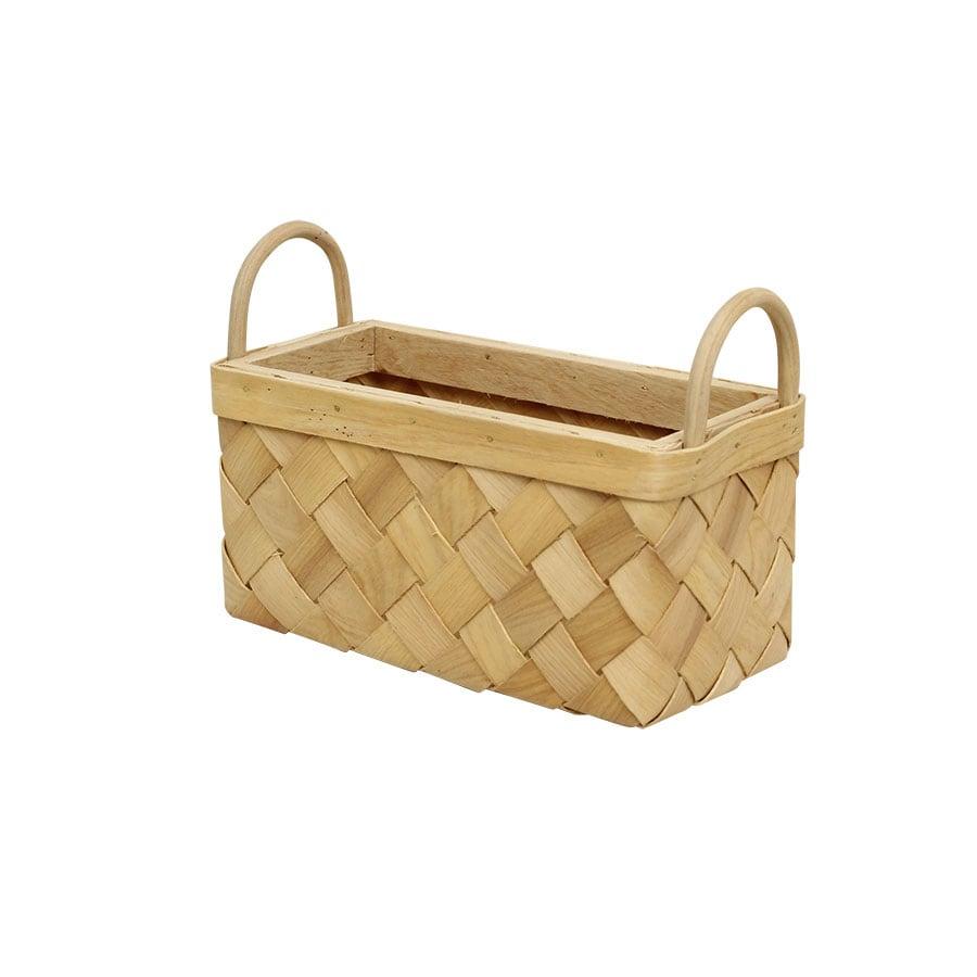 Wood Basket Crisp Bread