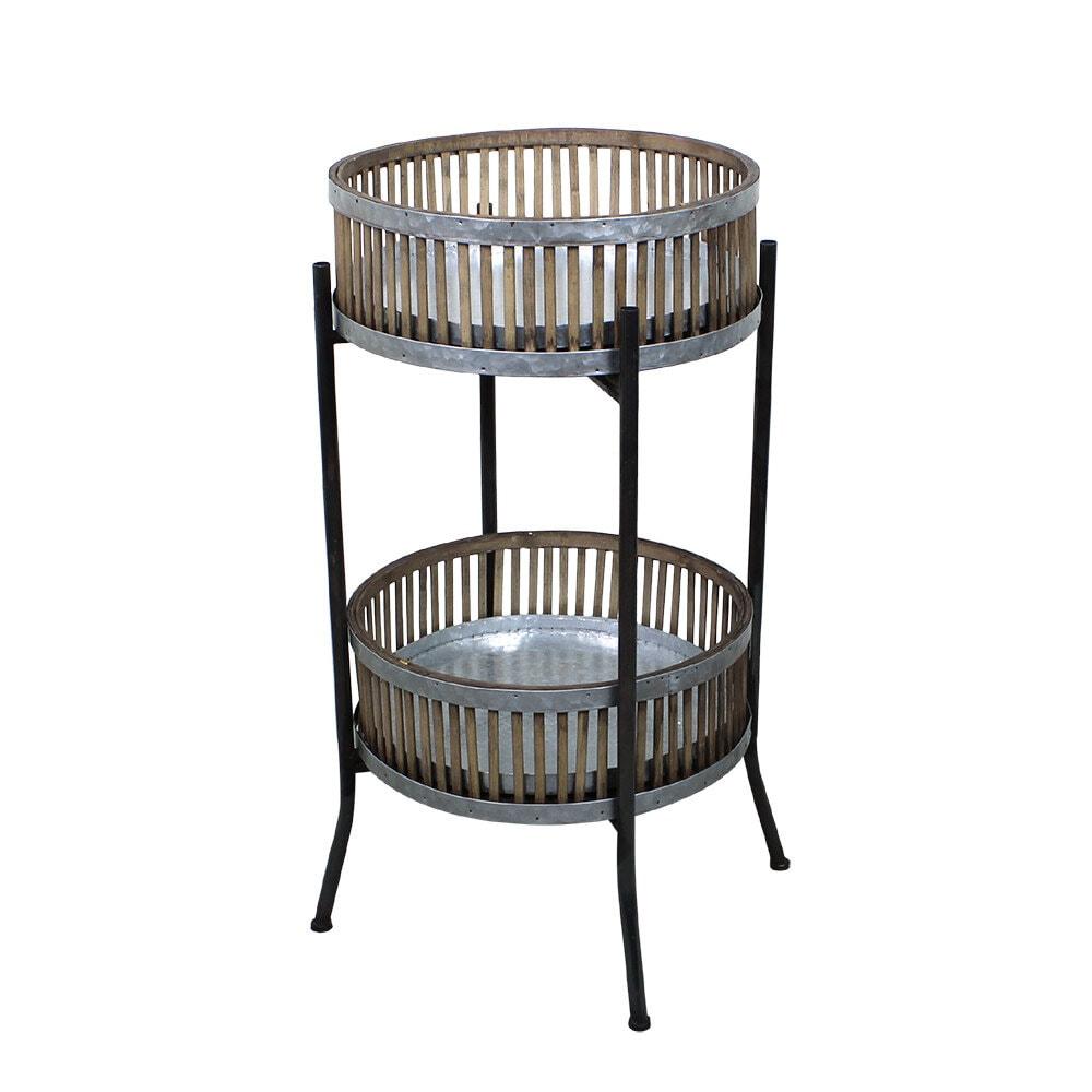 Baskets w. Stand Ida Medium