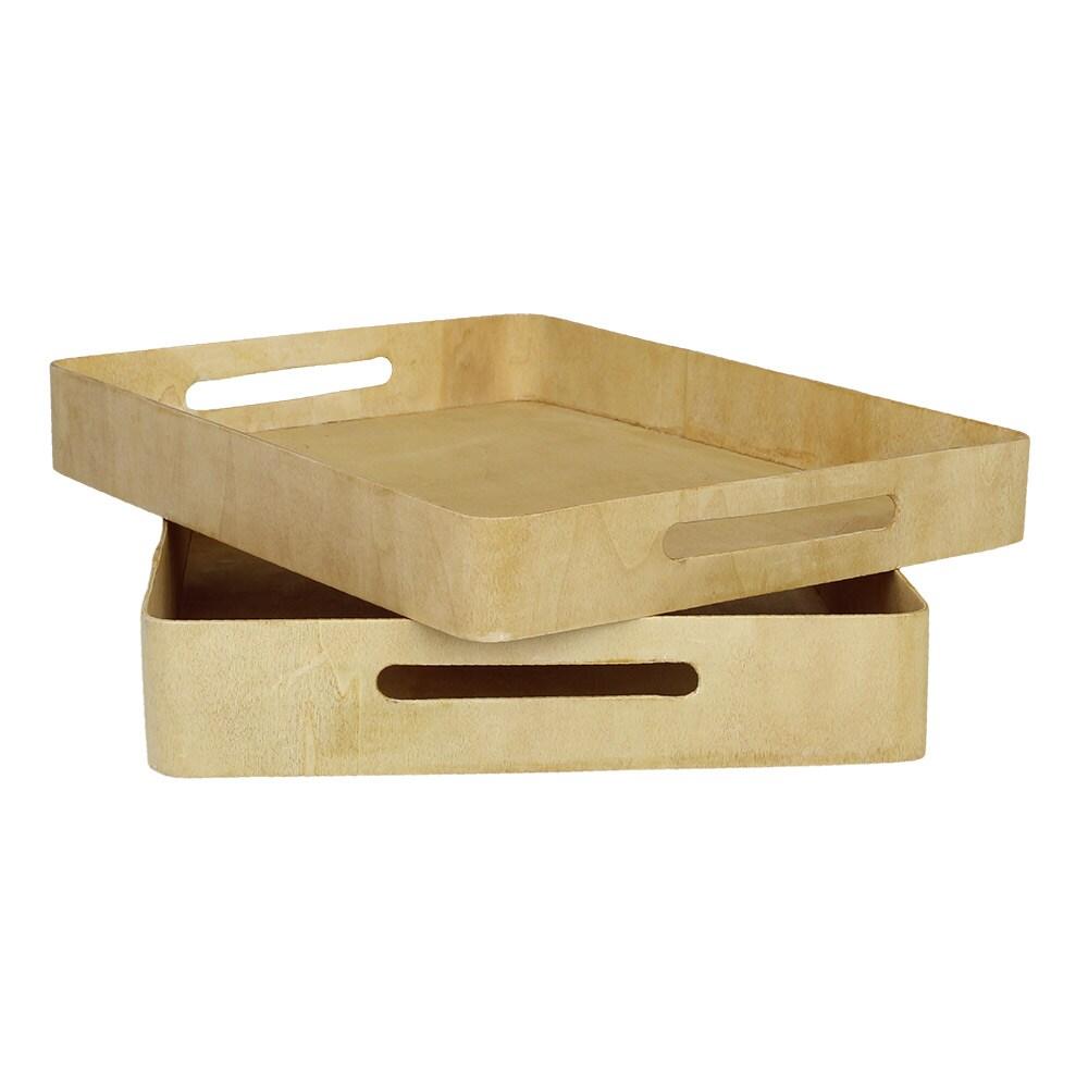 Wooden Tray Bertil S/2