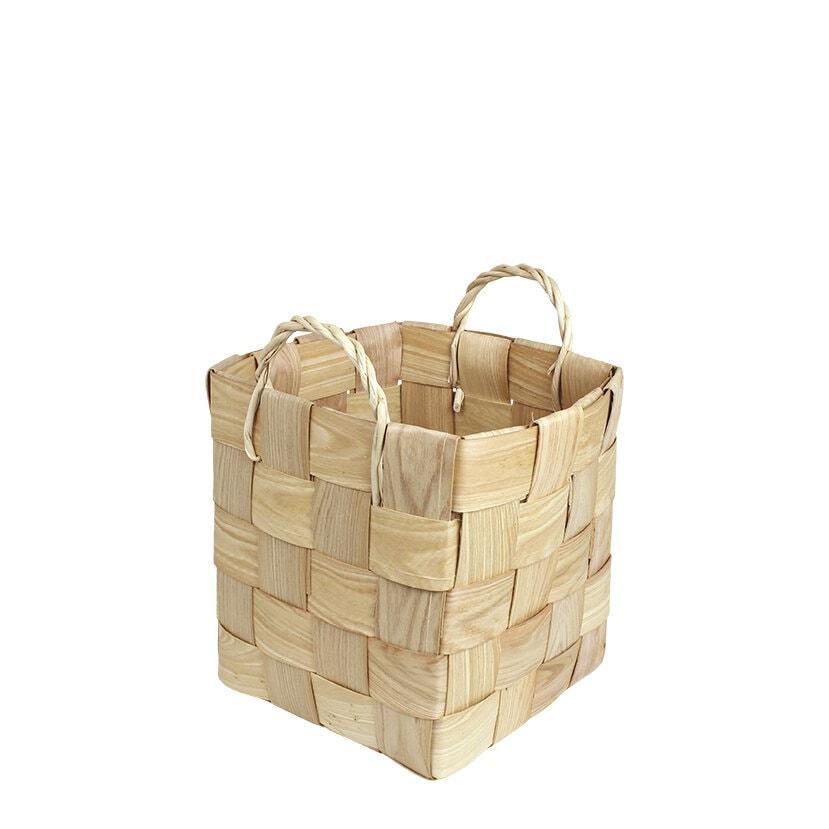 Wooden Basket Marita S/3