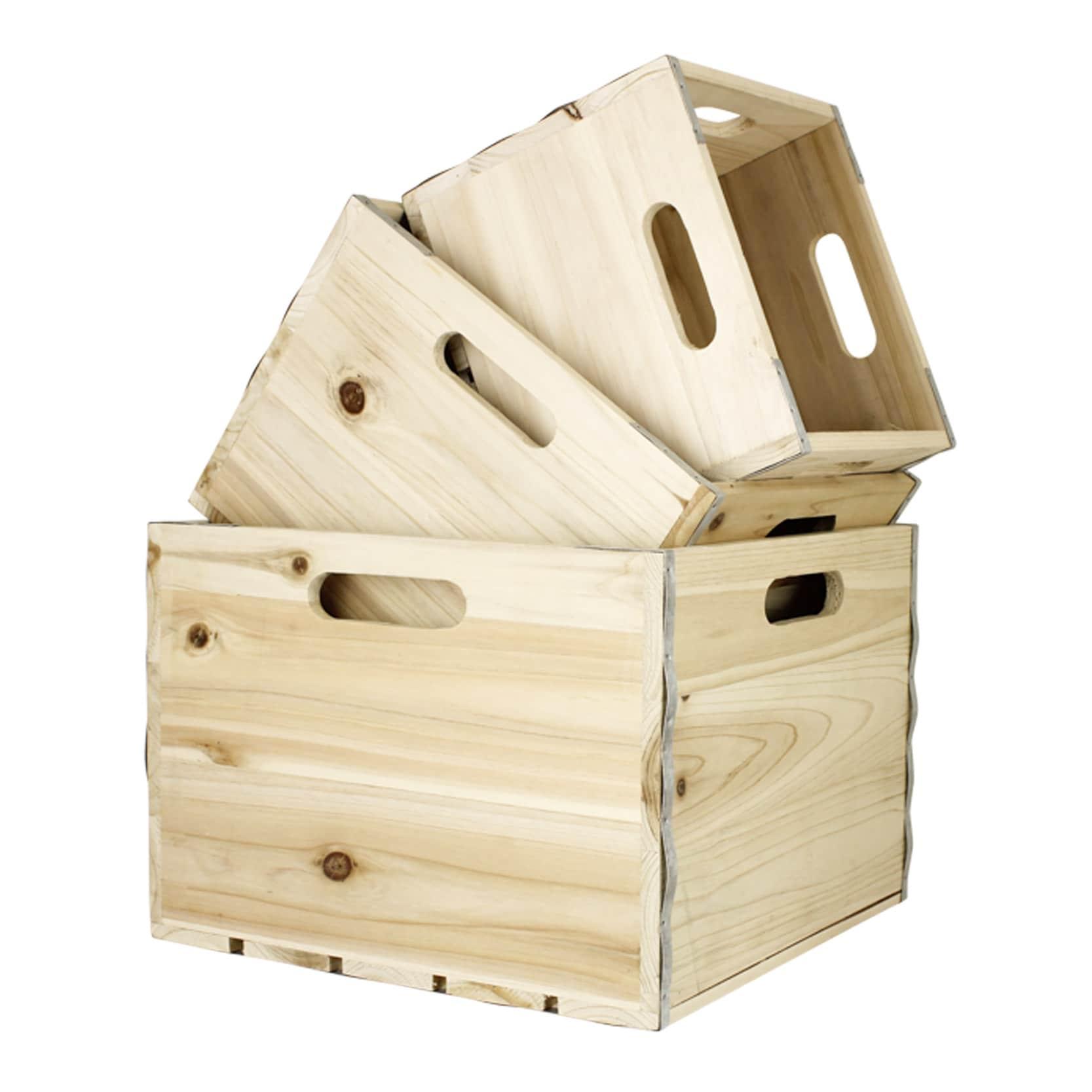 Wooden Box S/3