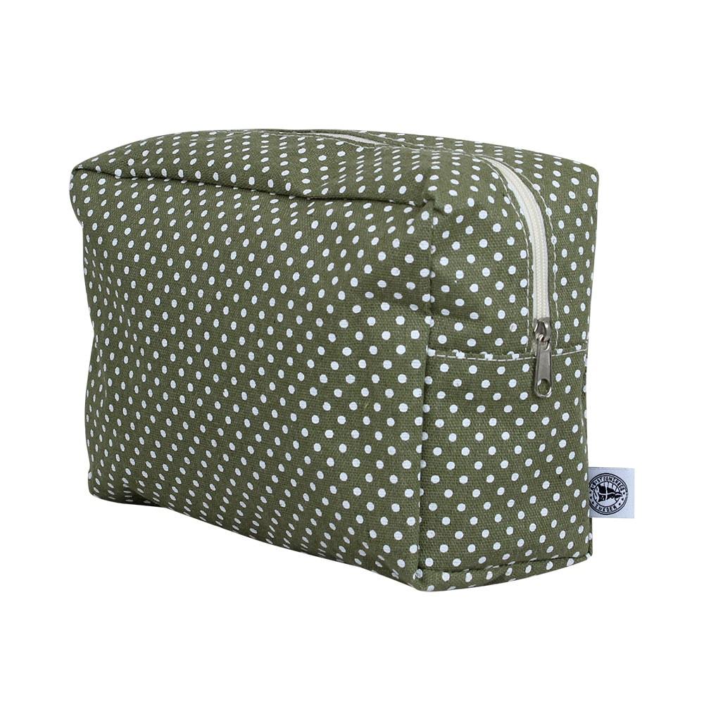 Toilet Bag Dot Green