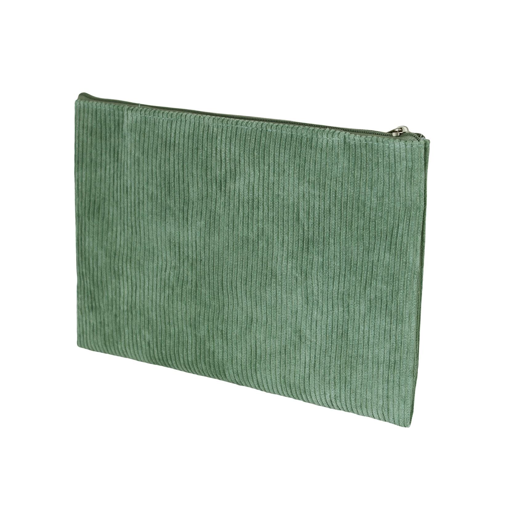 Toilet Bag Corduroy Green