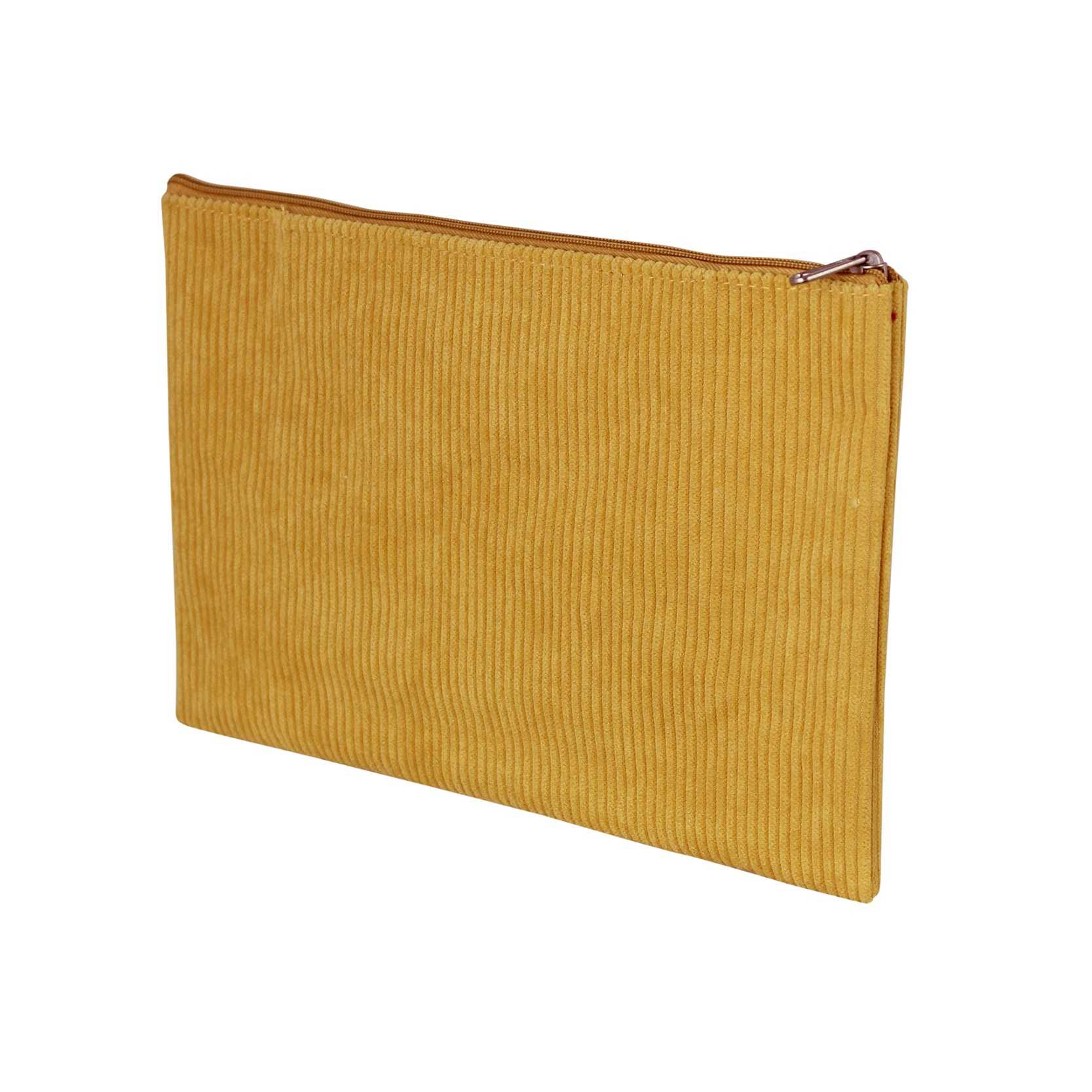 Toilet Bag Corduroy Yellow
