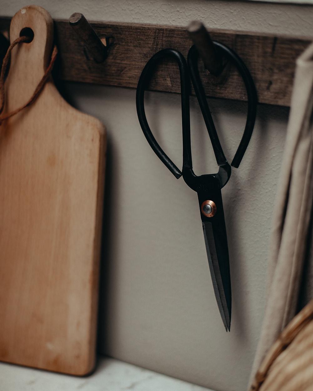 Antique Scissor Iron Large
