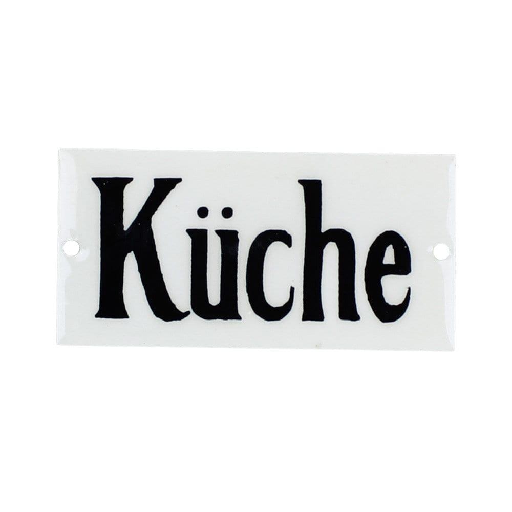 Sign Küche