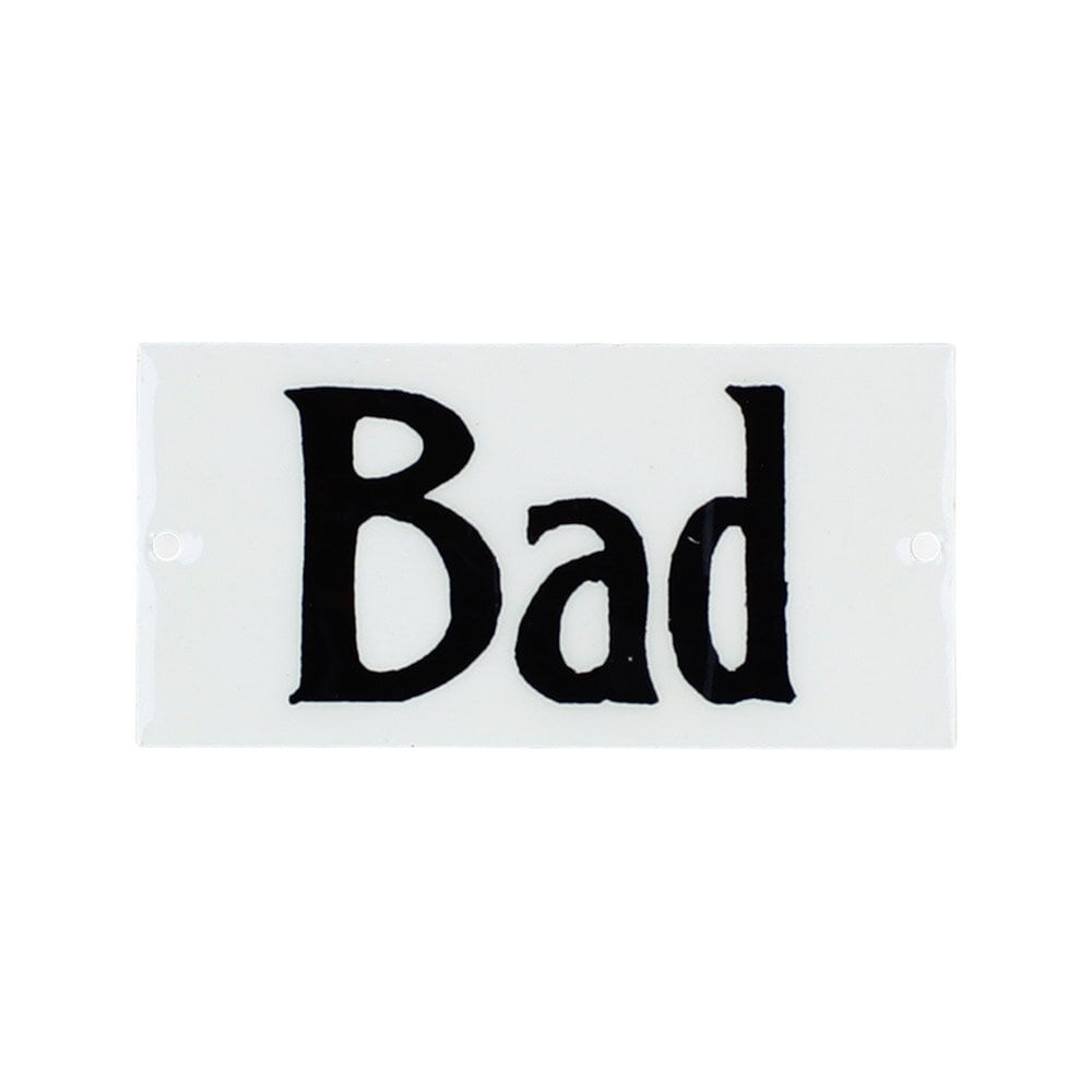 Sign Bad