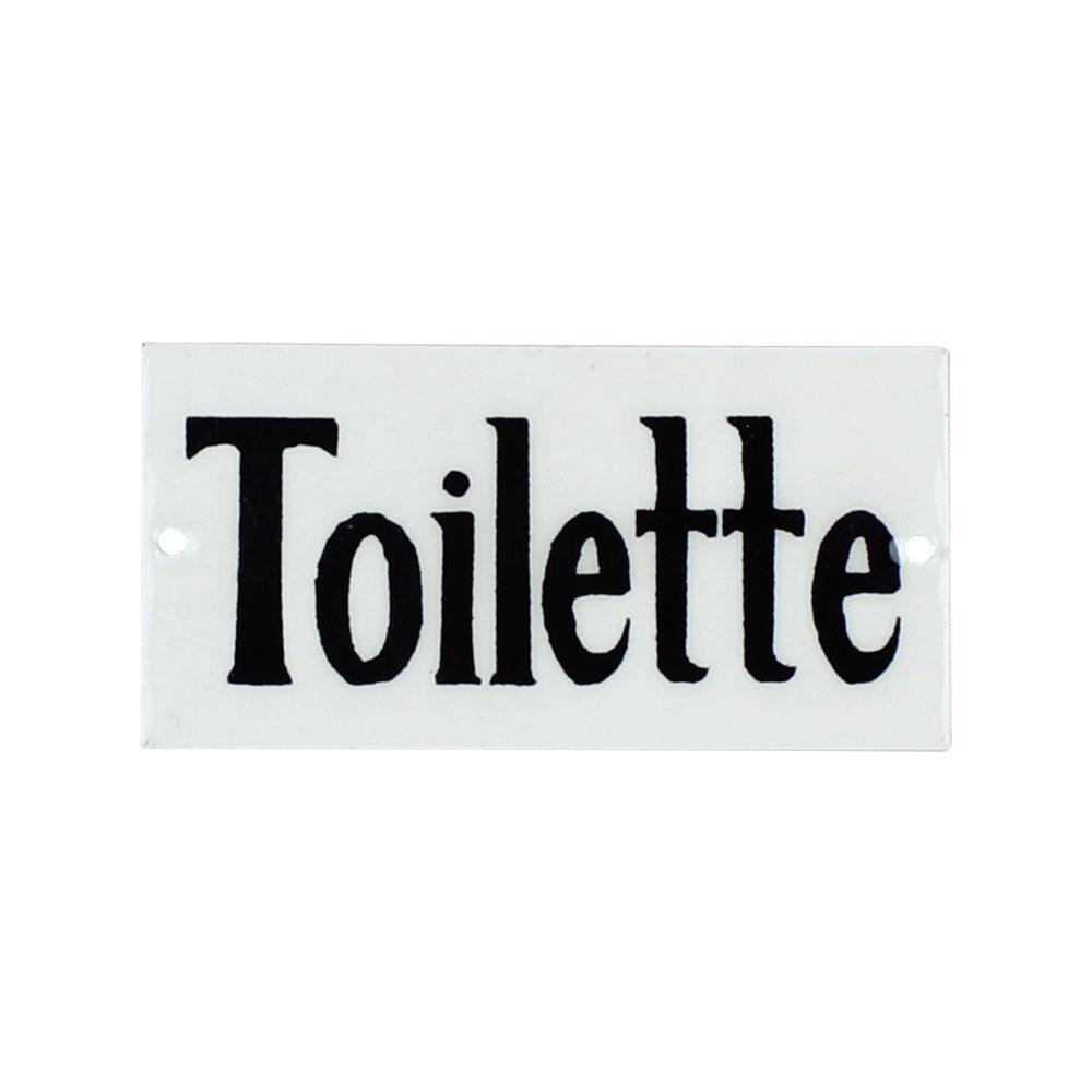 Sign Toilette