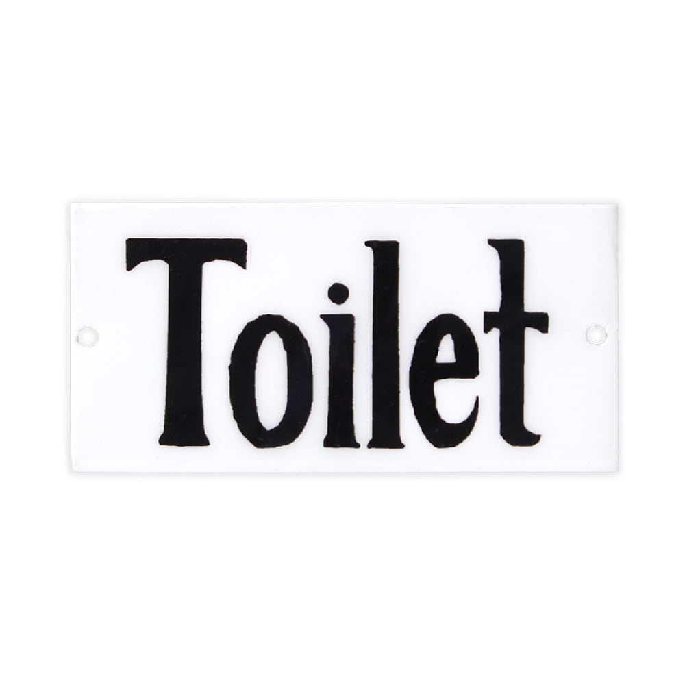 Sign Toilet