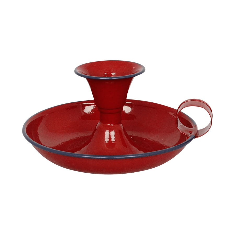 Candle Holder Olle Red