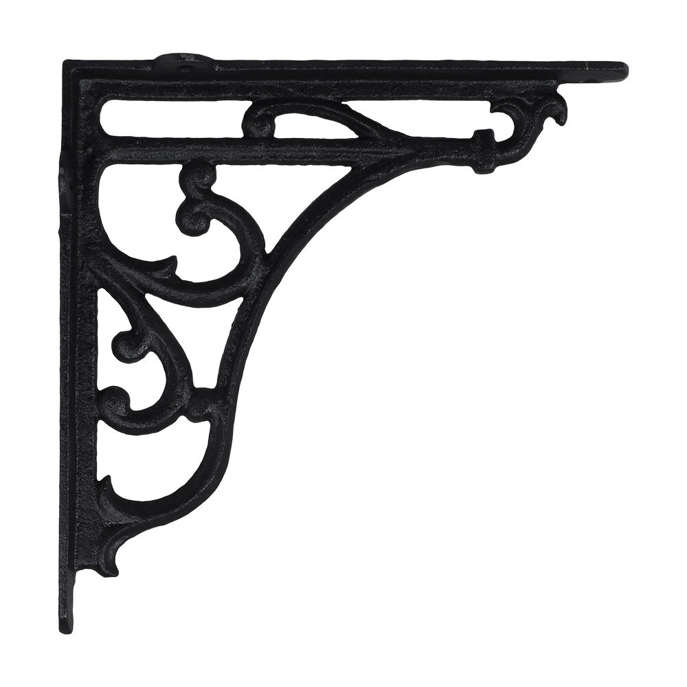 Bracket Cast Iron Black Large