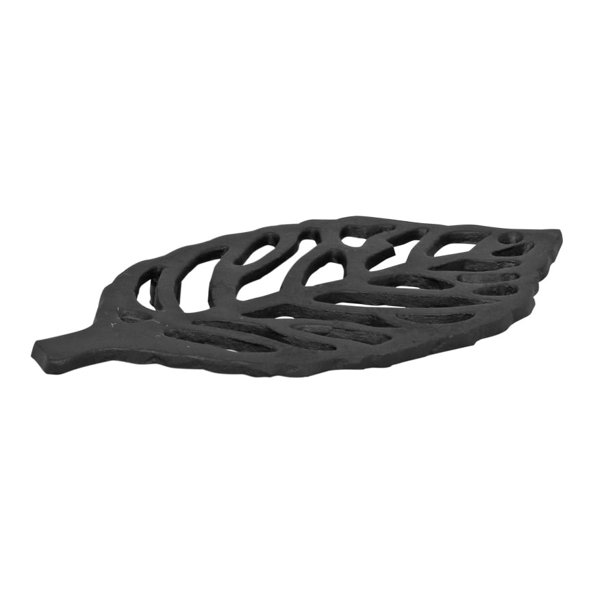 Trivet Leaf Cast Iron