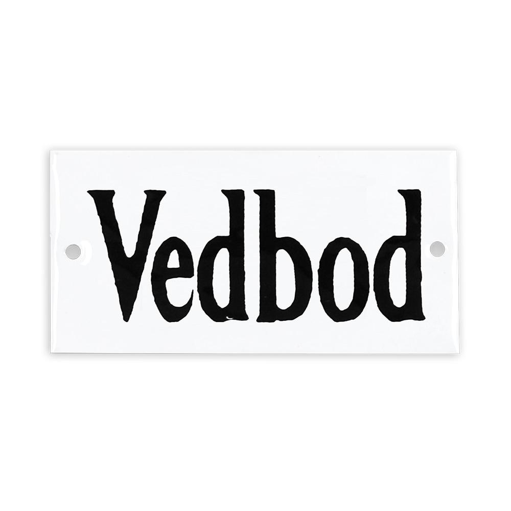 Sign Vedbod