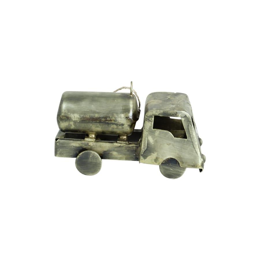 Small Truck Antique Brass