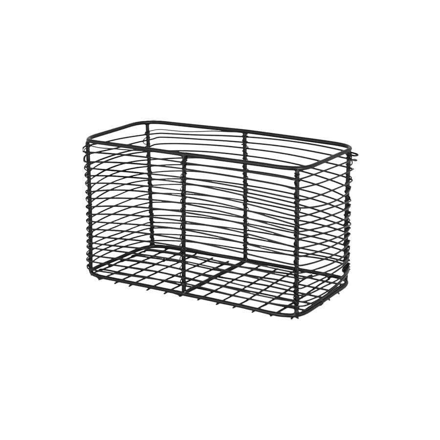 Small Wire Basket Black