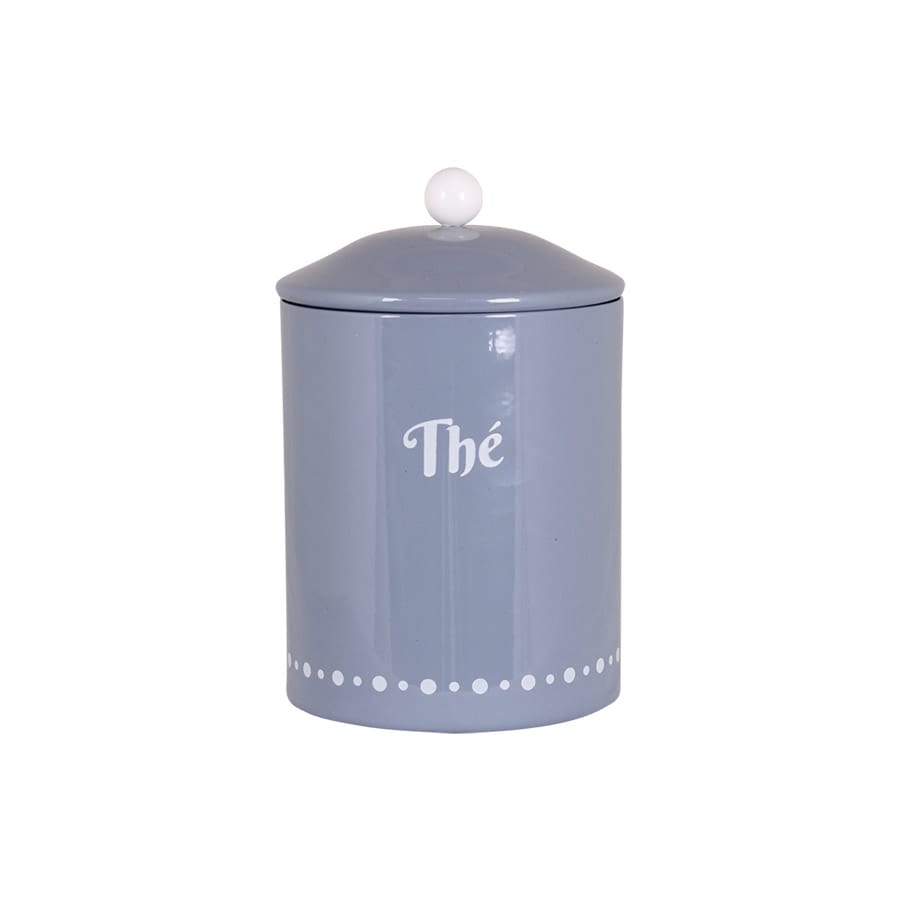 Tin Gladys Thé Blue