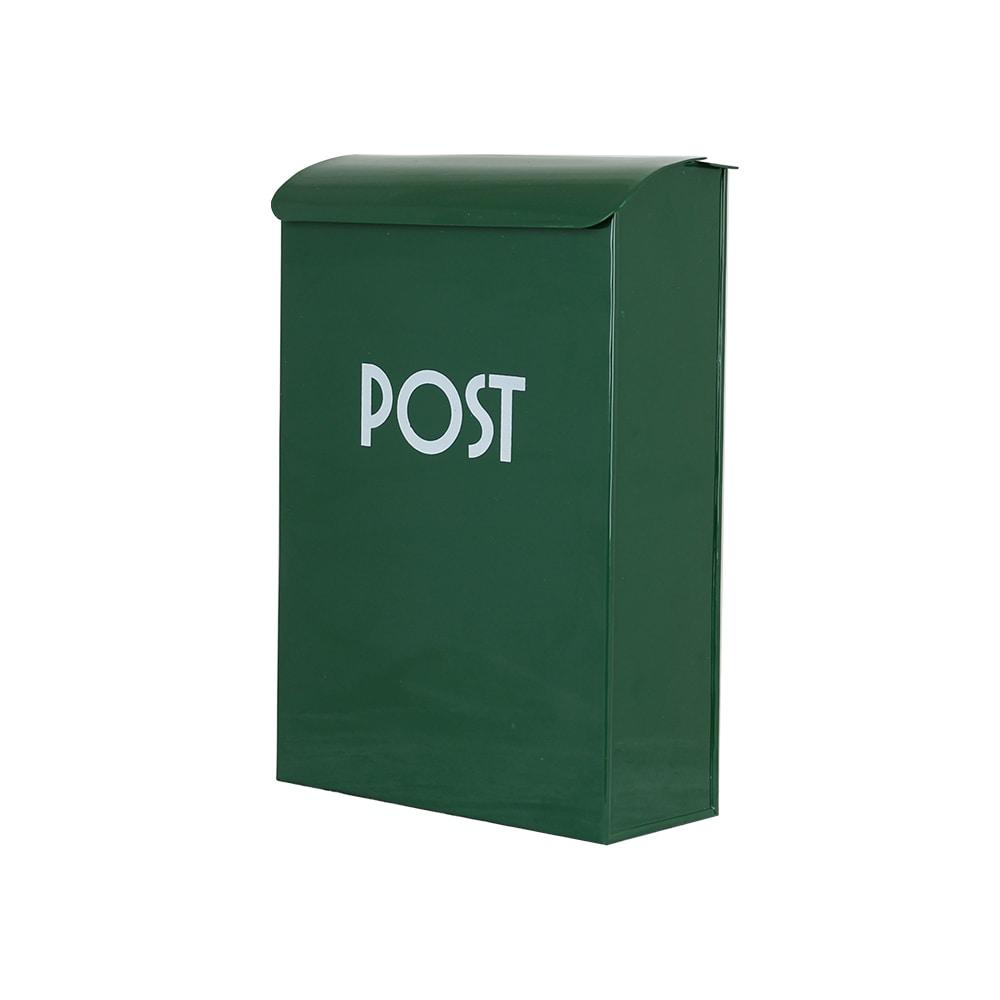 Post Box Dark Green