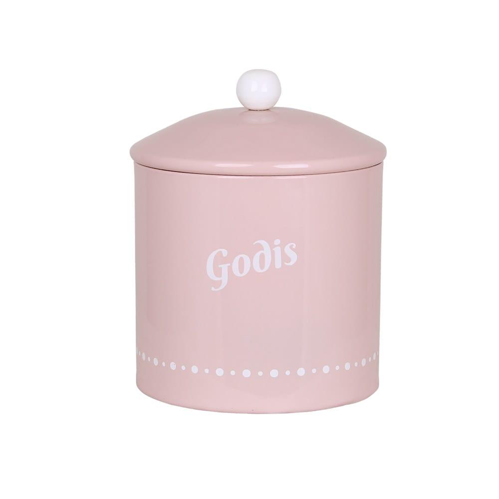 Tin Gladys Godis Pink
