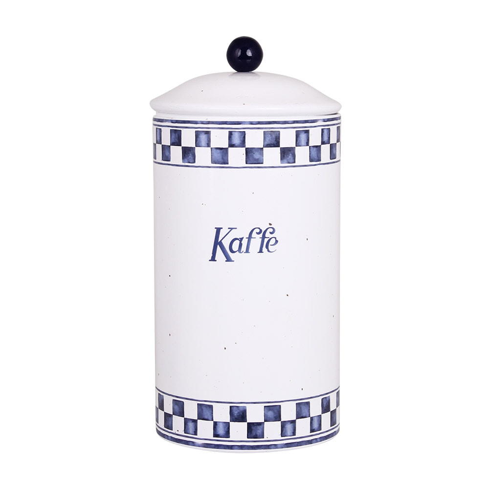 Tin Edith Kaffe Blue