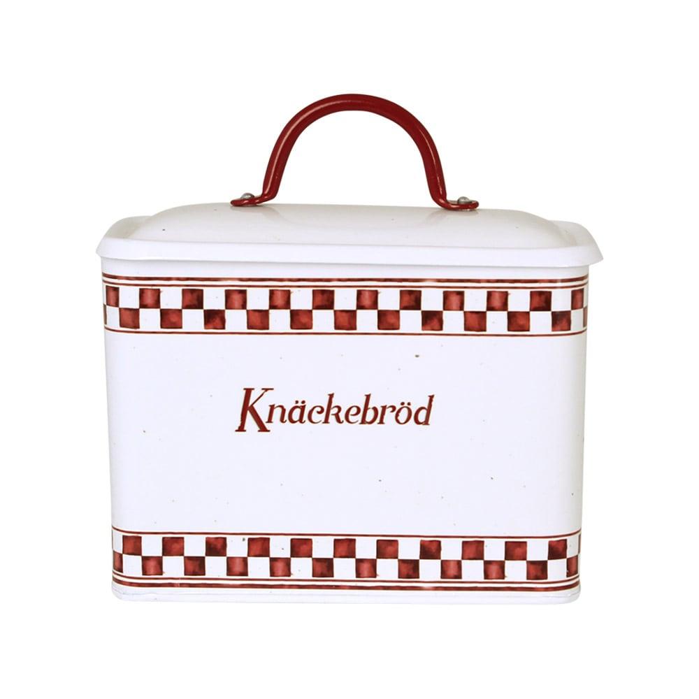 Tin Edith Knäckebröd Red