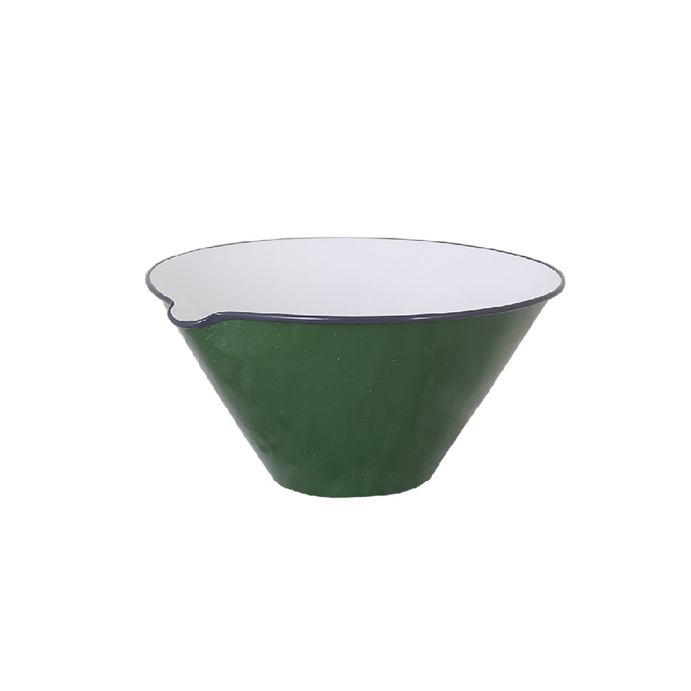 Bowl w. Lip Olle Dark Green Small