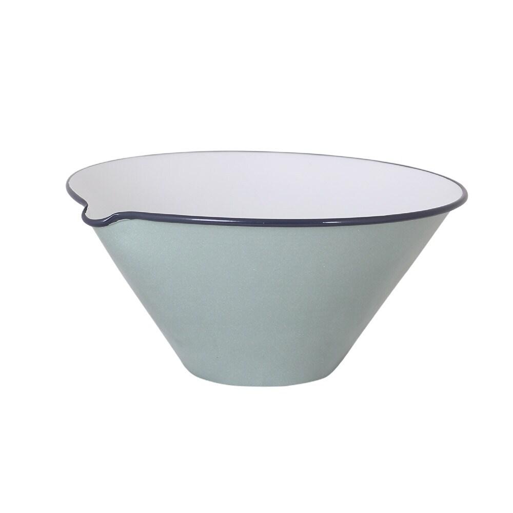 Bowl w. Lip Olle Light Green Large