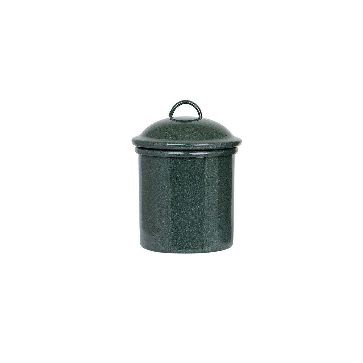 Tin Ingrid Dark Green S/2