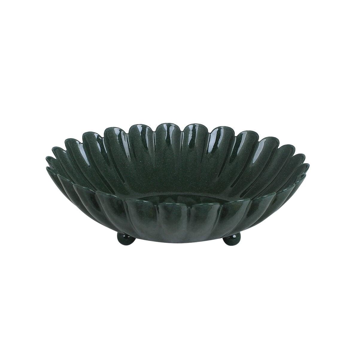Bowl Ingrid Dark Green Large
