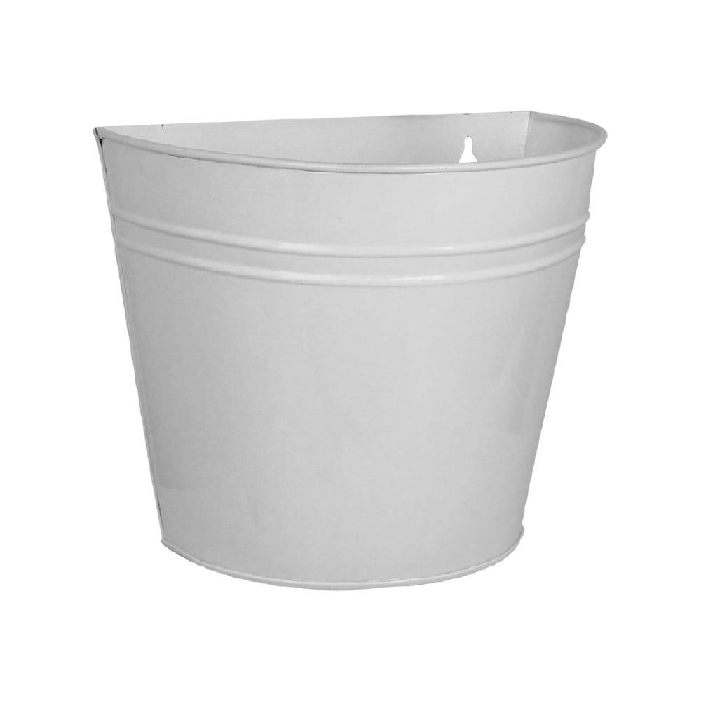 Wall Pot Antique White Medium
