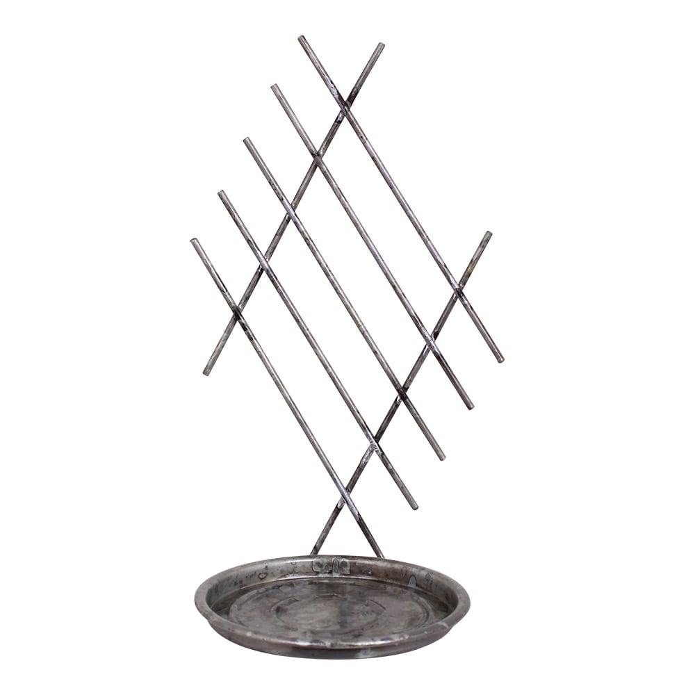Wall Stand For Pot Antique Zinc