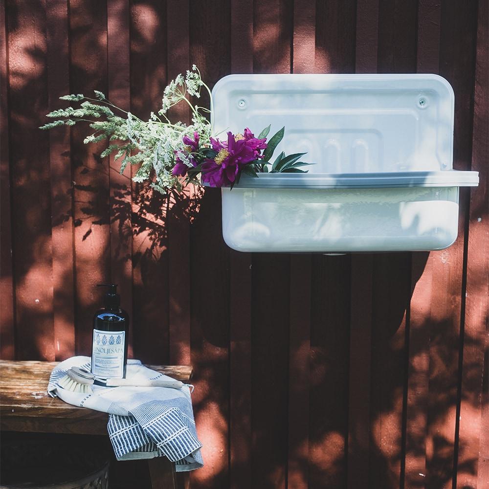 Bucket Sink White