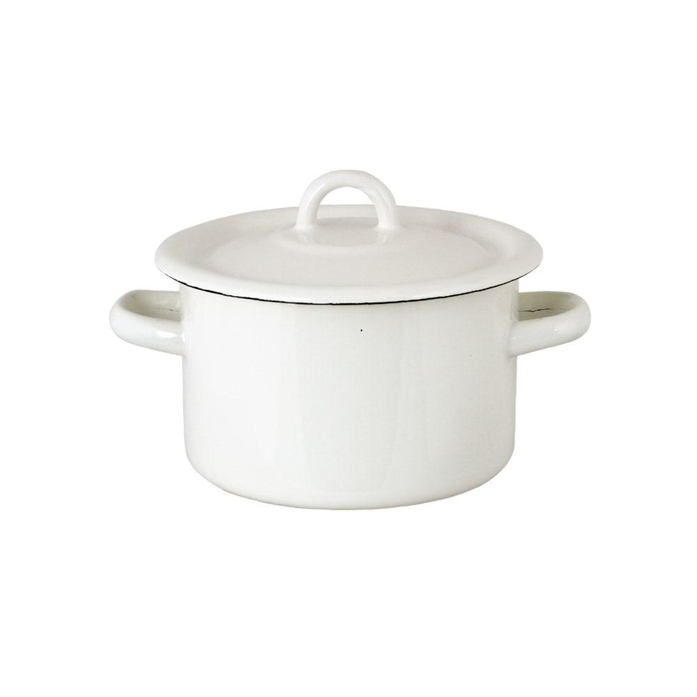 Pot Emil´s Enamel 2L Offwhite