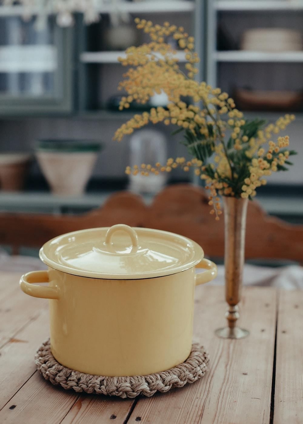 Pot Emil´s Enamel 4,5L Yellow