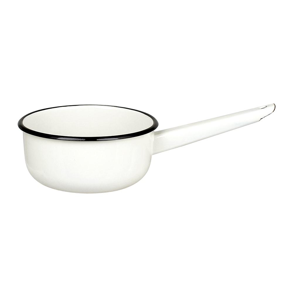 Saucepan w. Handle Emil´s Enamel Offwhite