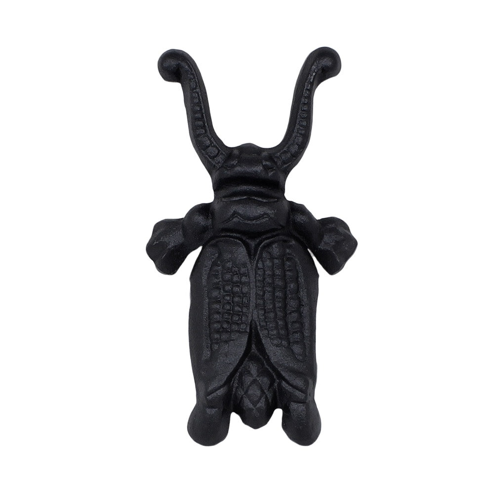Boot Jack Beetle Cast Iron Black
