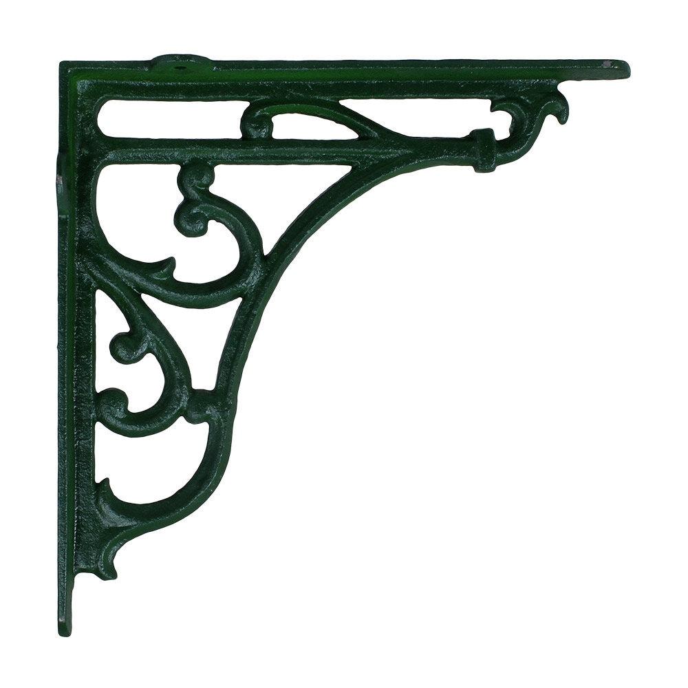 Bracket Cast Iron Green Large