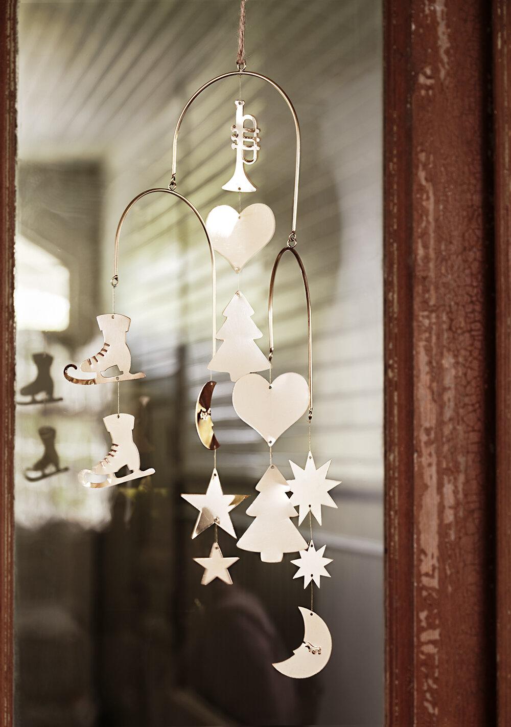 Mobile Ornament Brass