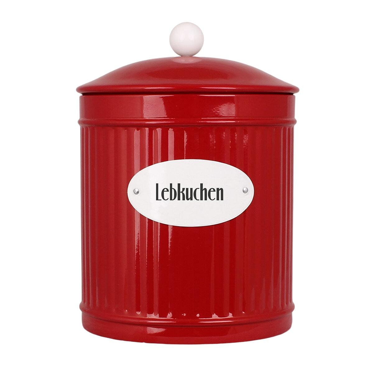 Tin Hugo Lebkuchen Red