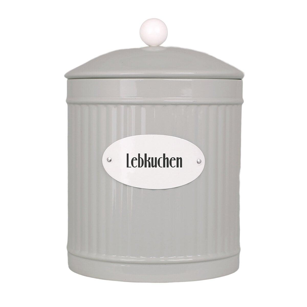 Tin Hugo Lebkuchen Beige