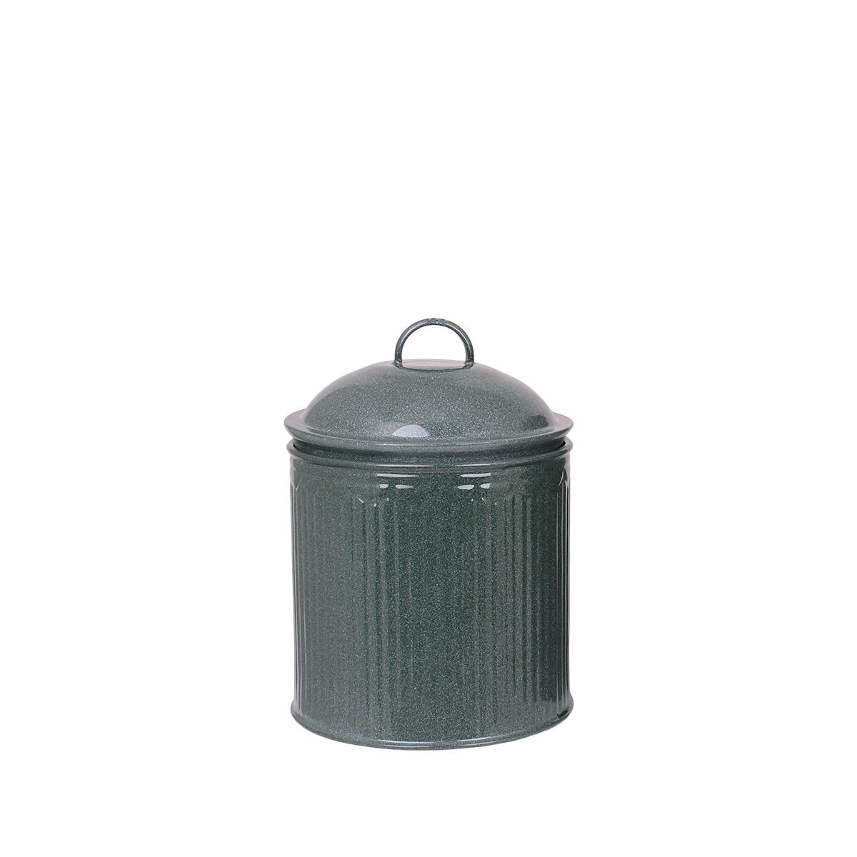 Tin Ingrid Stripe Dark Green S/2